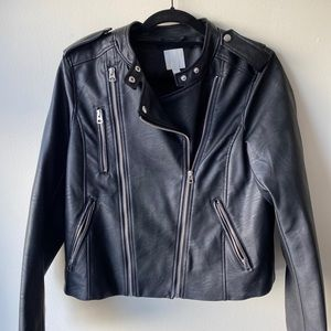 H&M leather jacket bought in Paris